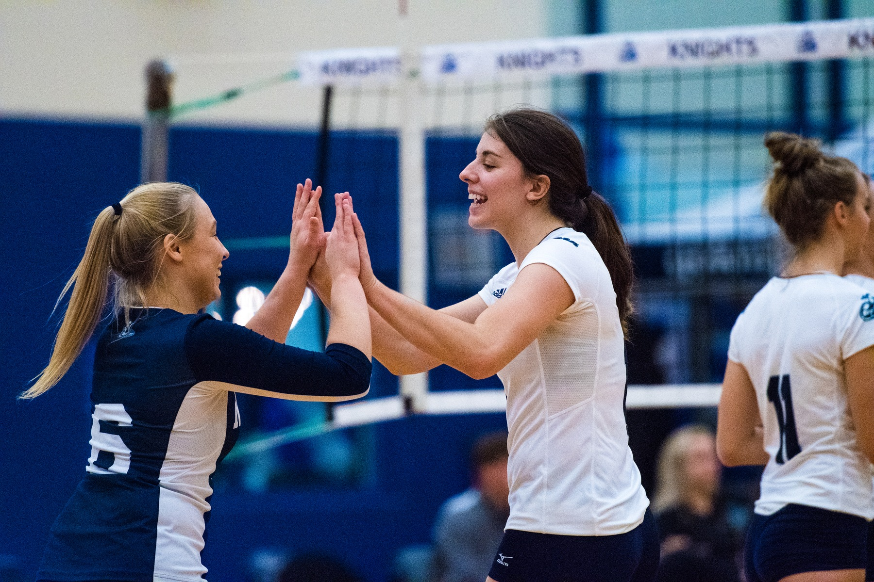 RECAP: Women's Volleyball defeat Royals; finish 2017 at 6-2