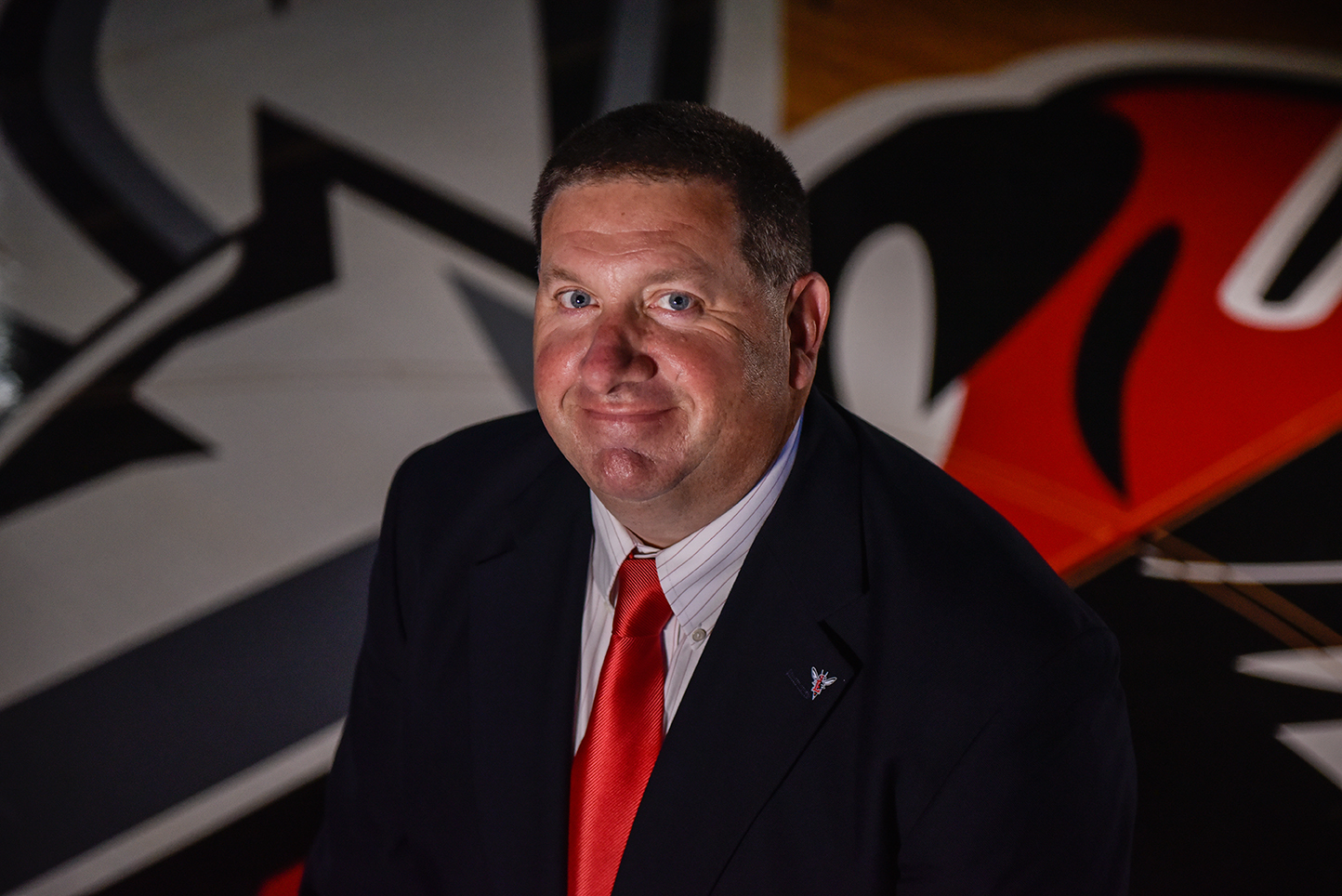 Headshot of athletic director Jon Waters