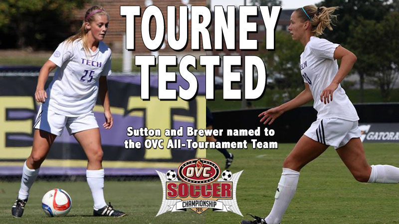Sutton and Brewer secure spots on the OVC All-Tournament Team