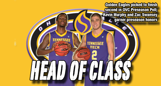Murphy Preseason OVC Player of the Year; Golden Eagles picked second