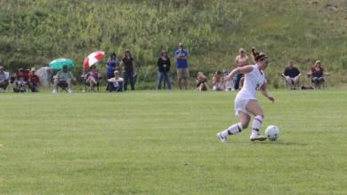Women's Soccer Wins First NECC Game