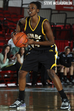 Tope Obajolu finished one rebound shy of her first double-double of the season, tallying 11 points and nine boards.