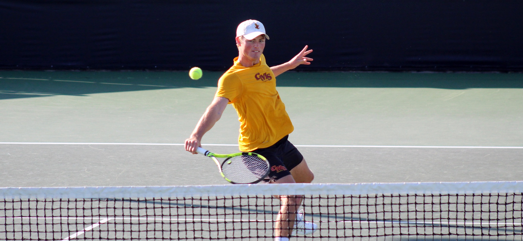 Casey Morris upset the No. 3 seed in the opening round to reach the ITA Quarterfinals