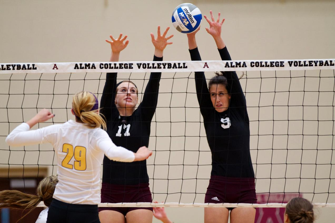 Volleyball beaten at home by Adrian College 3-1 (18-25, 25-17, 16-25, 17-25)