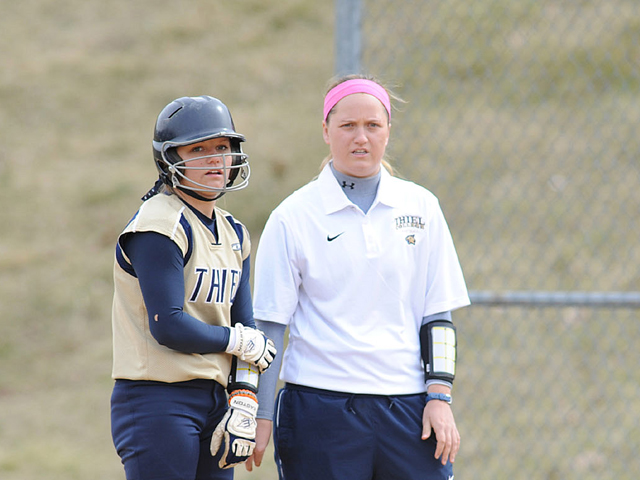 Stephanie Smith is the new Lake Erie softball coach following a three-year stint on the staff at her alma mater, Thiel College.