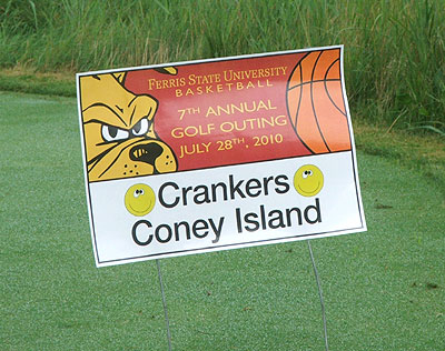 FSU Men's Basketball Holds Annual Golf Outing