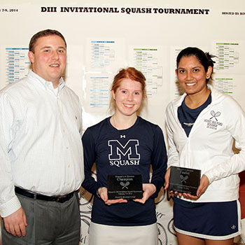 Squash Concludes Play at Division III Nationals