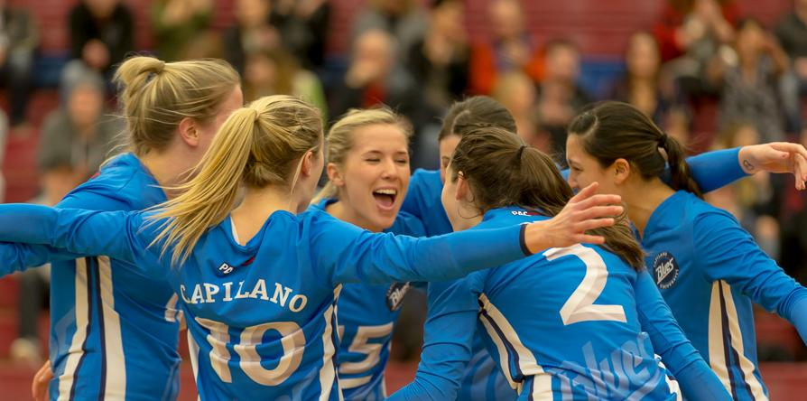 Capilano women's volleyball open tryout