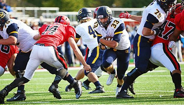Blugolds taken down by River Falls