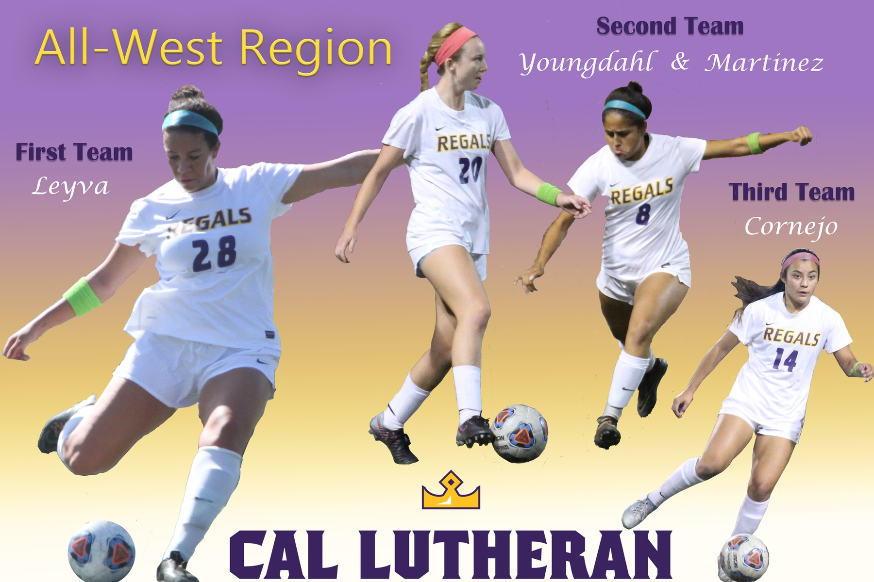 Four Regals Named All-West Region