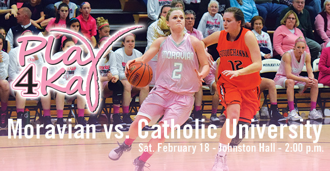 Moravian College's 2017 Play 4Kay Week Set for February 12-18