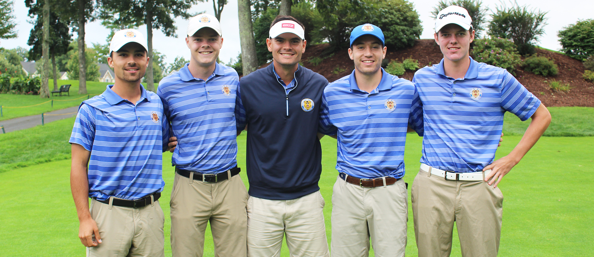 Western New England won the CCC Qualifier by four strokes on Wednesday to earn hosting rights for next spring's CCC Championship. (Photo by Erin Stanton)
