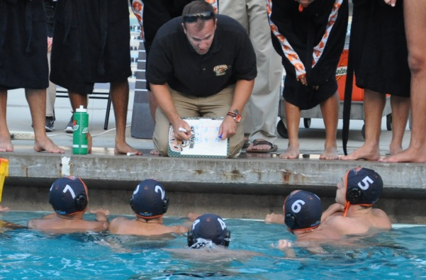 Hat Trick Brings Bradley Six Goals from Record as Water Polo Faces CMS