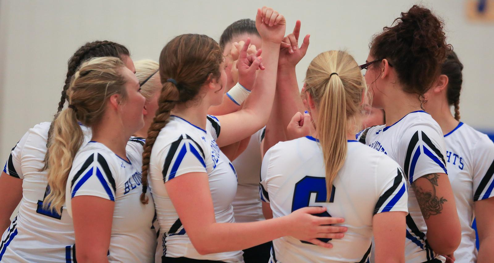 Blue Knights Volleyball Finishes Season Strong with 2nd Place Finish