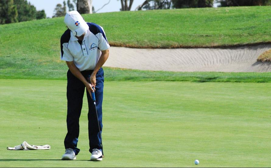 Men's Golf Move Into Second Place in OEC