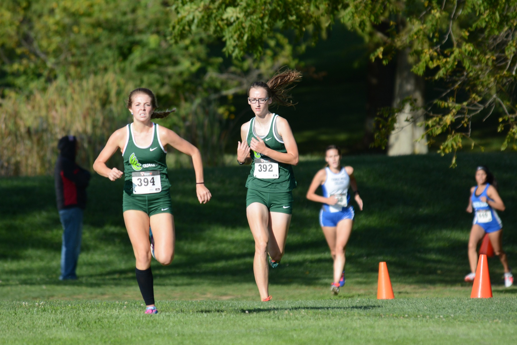 Women's cross country ninth at OAC Championships