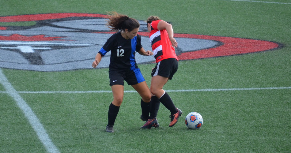 Women's soccer tops St. Andrews for first win of the season