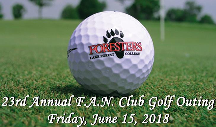 Join us for the 23rd annual F.A.N. Club Golf Outing