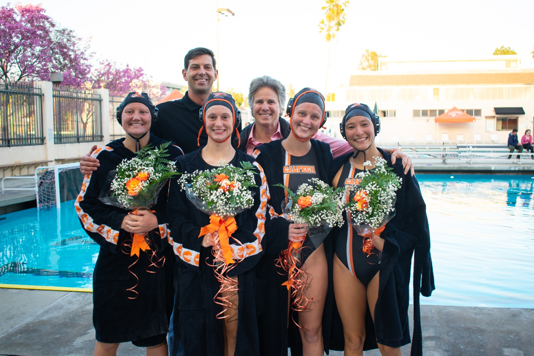 Women's Polo Saves Best Performance for Senior Night