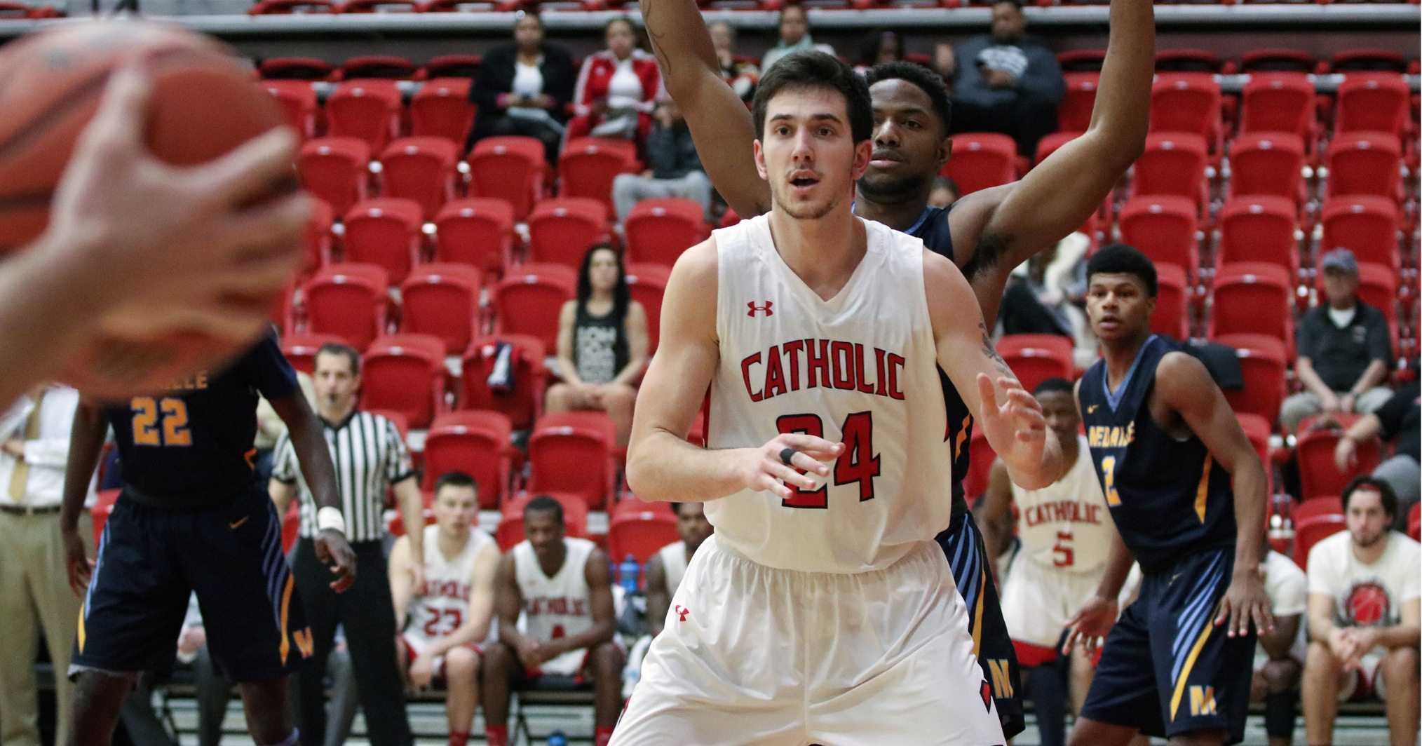 Cardinals' Upset Bid Falls Short Against No. 17 Rochester