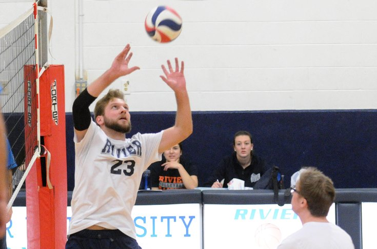 Men's Volleyball: #13 Rivier tops #7 Kean & Regis in Saturday Tri-Match