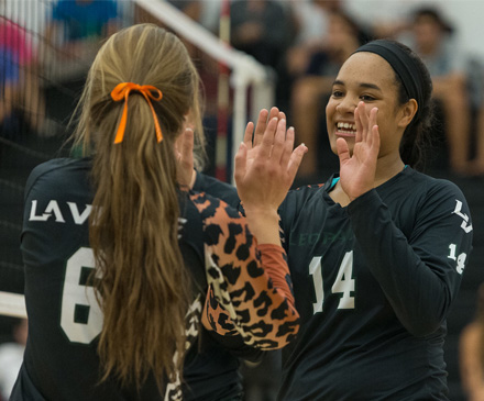 Volleyball Shows Fight in Loss to No. 2 Cal Lutheran