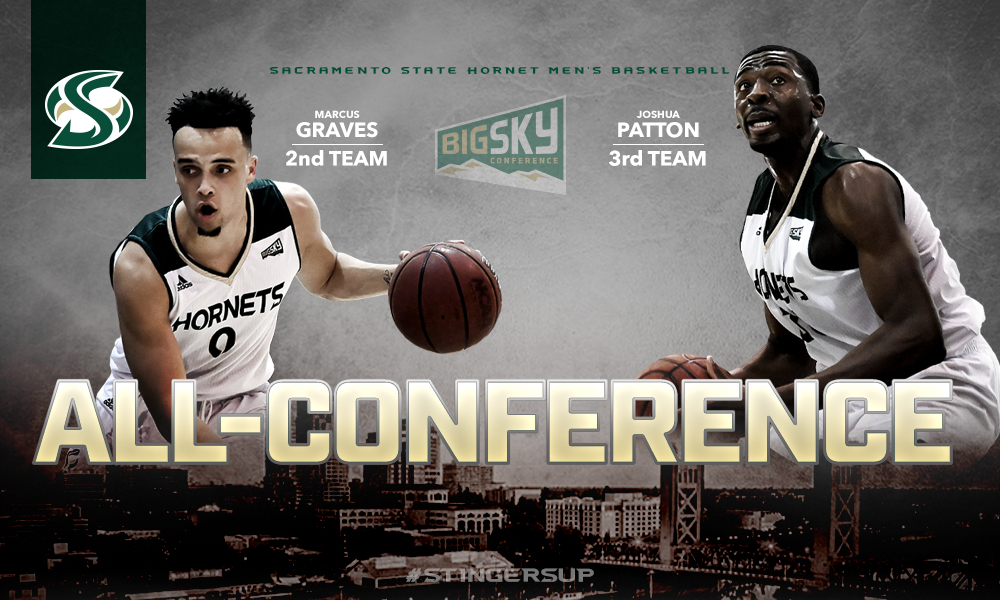 MEN'S HOOPS ALL-CONFERENCE: GRAVES NAMED 2ND TEAM, PATTON 3RD TEAM