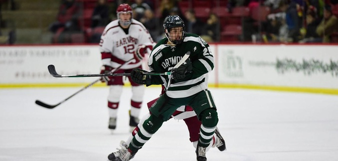 Dartmouth edged by Harvard in Game 1 of ECAC Hockey Quarterfinals