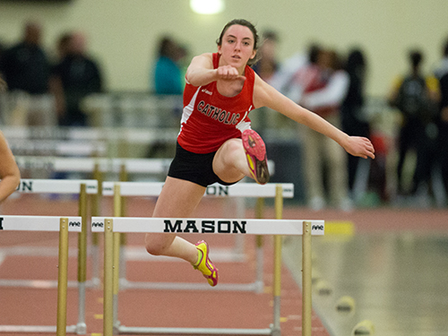Women's Track & Field Competes at Widener and George Mason