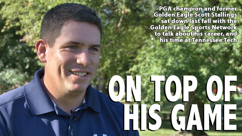Catching up with PGA champion and former Golden Eagle Scott Stallings