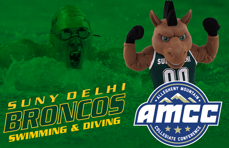 SUNY Delhi Joins AMCC for Swimming & Diving