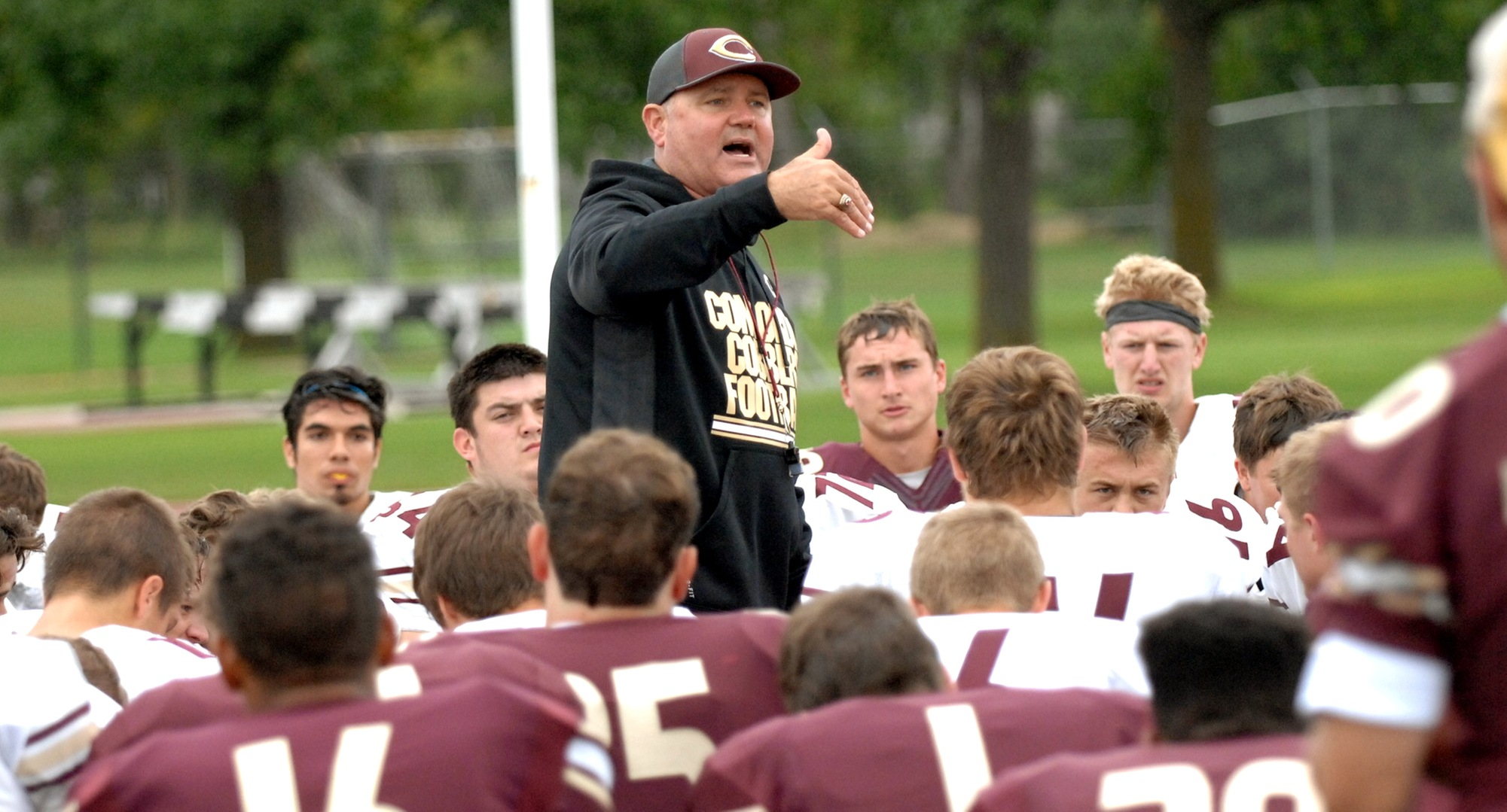Concordia head coach Terry Horan has come up with a new way to host recruiting days for the Cobbers.
