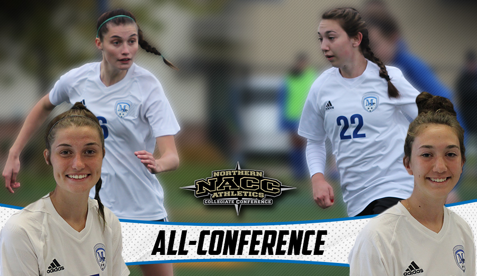 Marian women's soccer All-NACC
