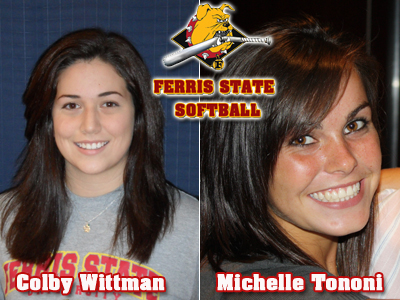 Colby Wittman and Michelle Tononi Ink With Ferris State Softball Program