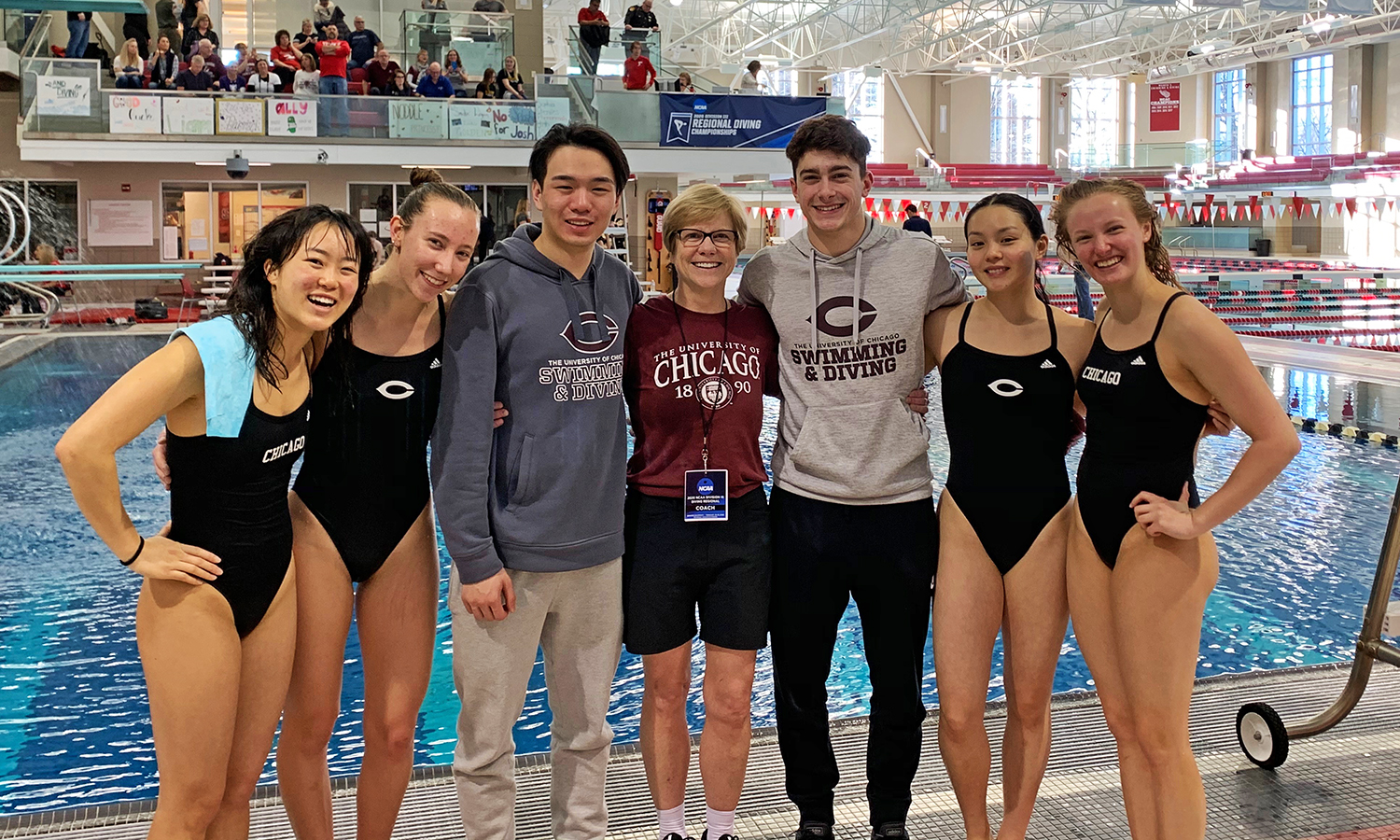 Maroon Moments: UChicago Dominates Diving Regional, Sends All Six Divers to NCAAs (Feb. 28-29, 2020)