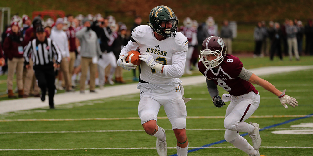 Husson Picks Up First Ever Postseason Victory for the ECFC Over #19/20 Springfield, 23-21