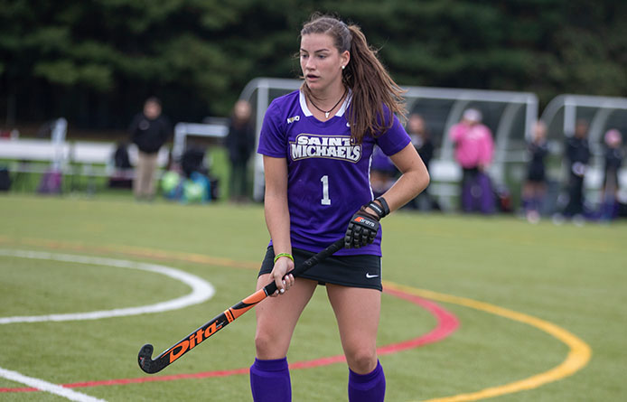 Field Hockey Drops 3-1 Decision to No. 4 Pace