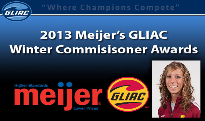 National Champion Anna Rudd Claims GLIAC Commissioner's Award Honors