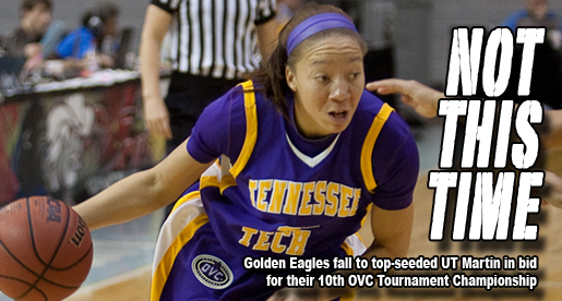 Golden Eagles topped by UTM in OVC championship game