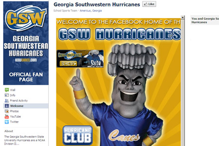 Don't Foget: GSW Athletics has launched redesigned Facebook page