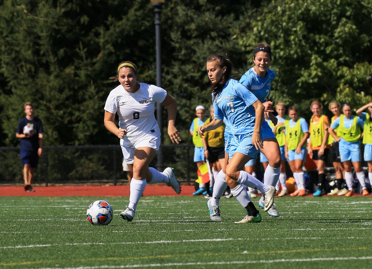Nagri Propells Women's Soccer Past Saint Joseph (CT)