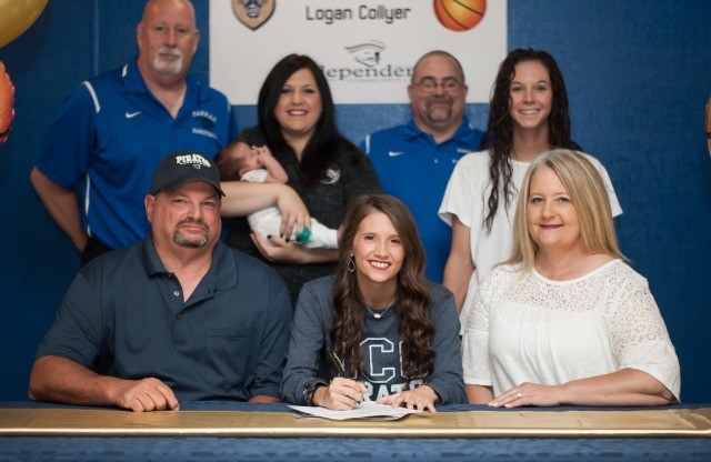 Lady Pirates Basketball Signs Logan Collyer