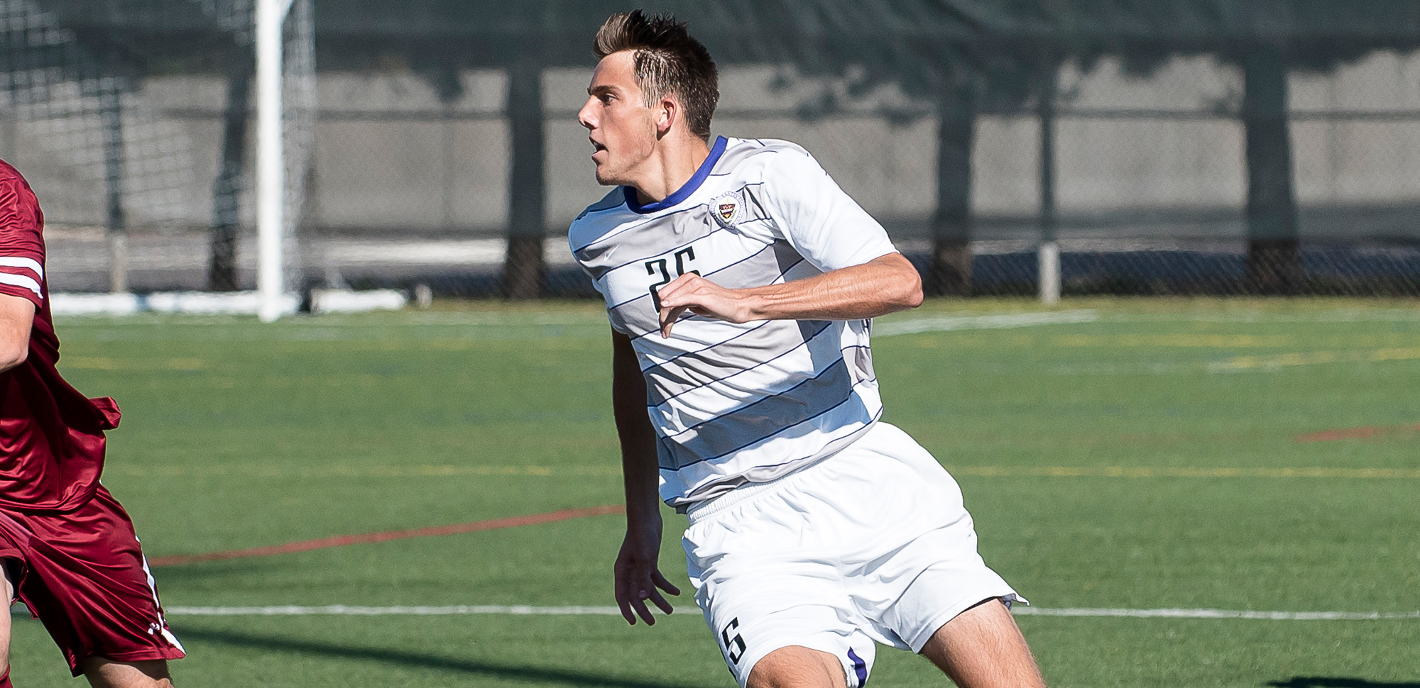 Junior Connor Casey scored in the second half, marking the fourth straight match in which we scored. But, it wasn't enough in Scranton's tough 2-1 loss at SUNY-Cortland on Sunday night.