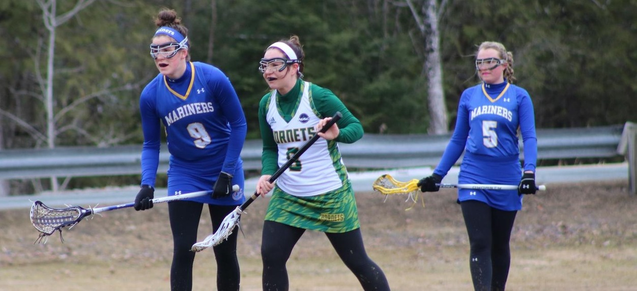 Hornet women's lacrosse opens home campaign with a loss to Maine Maritime
