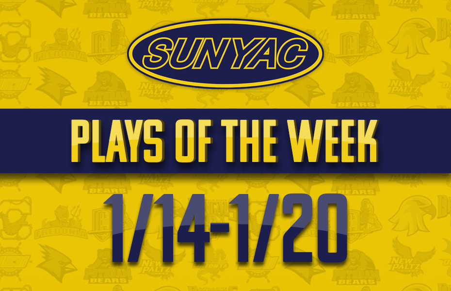 SUNYAC Winter Plays of the Week - Jan.14-20