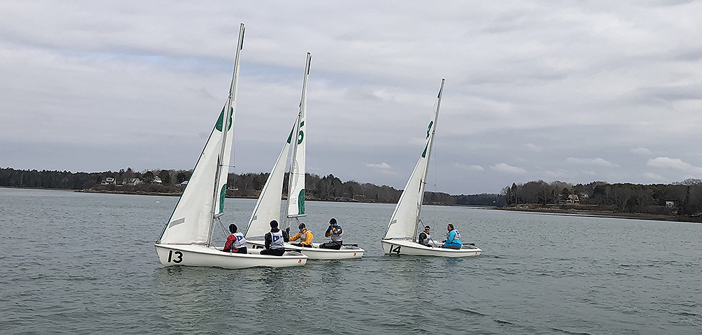Harpswell Sound Team Race