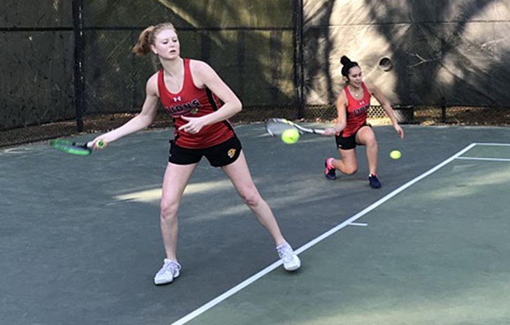 Women's Tennis Blanked by NAIA Top-10 Team William Woods