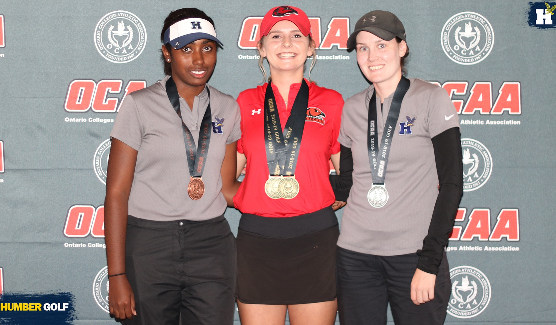 McCALLUM AND BANTON FINISH ON PODIUM AT OCAA GOLF CHAMPIONSHIP