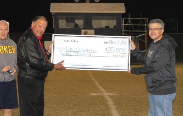 Cobra Club Raises $20,000 for Coker Athletics