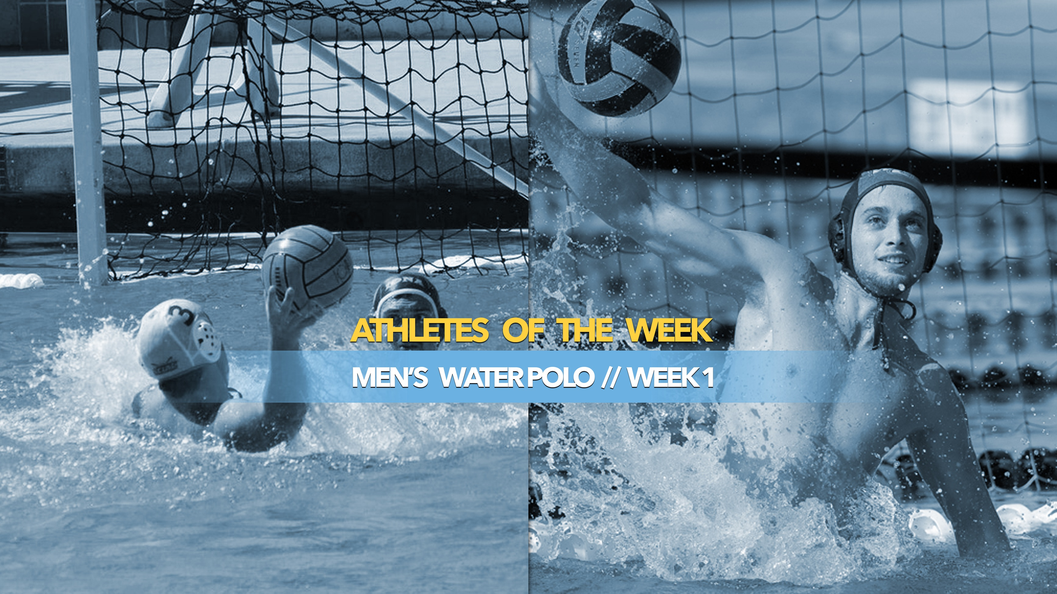 Men's Water Polo Athletes of the Week: September 9, 2019